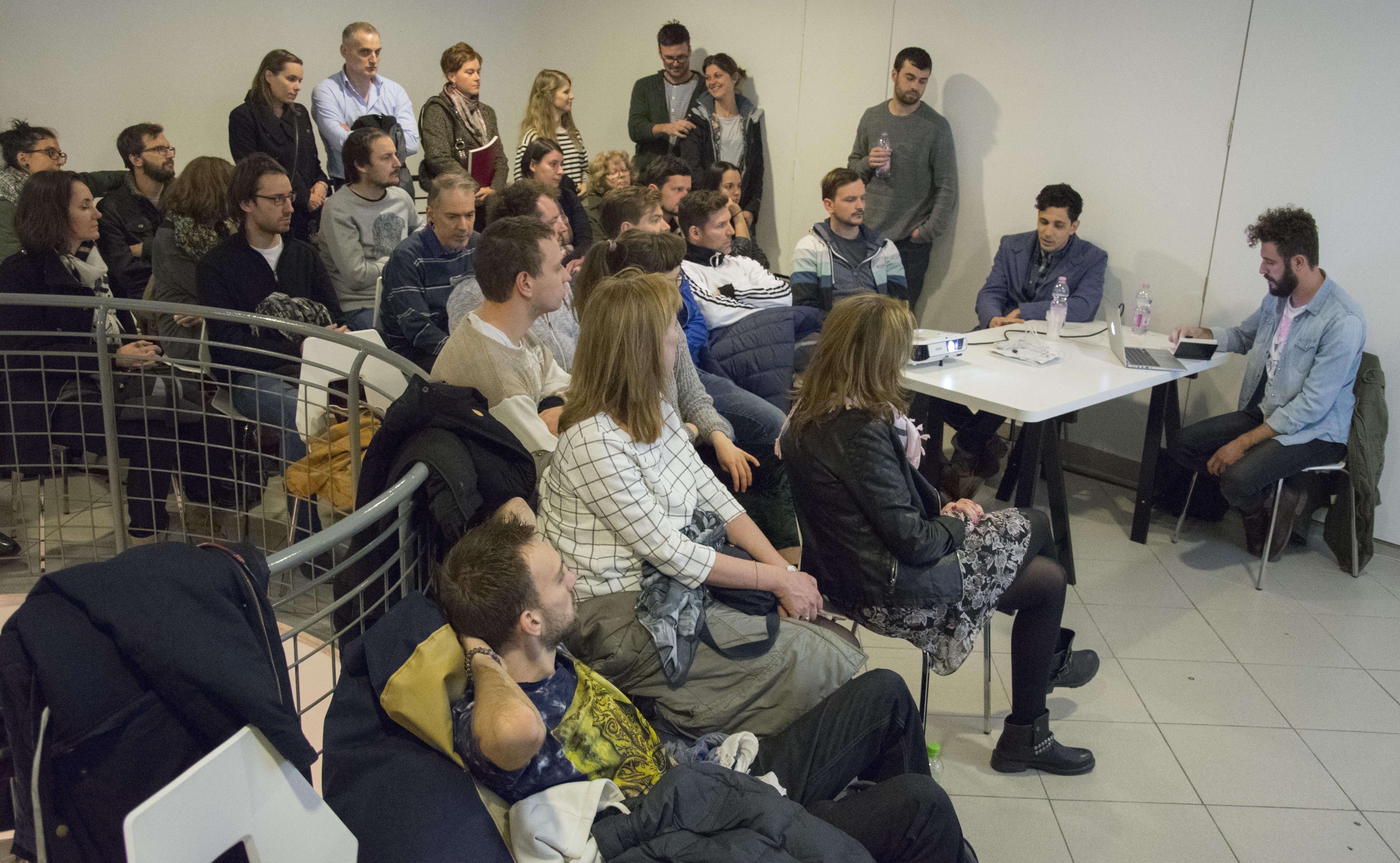 Kortárs inspiráció – Raúl Moreno előadása a Fesztiválközpontban